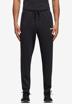 adidas Performance - ESSENTIALS 3STRIPES FRENCH TERRY SPORT PANTS - Spodnie treningowe - black