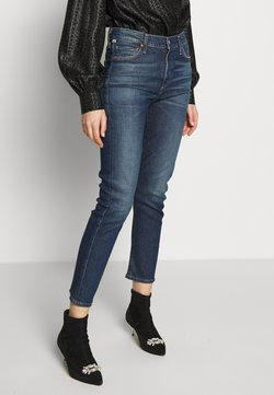 Citizens of Humanity - HARLOW ANKLE MID RISE  - Slim fit jeans - dark blue