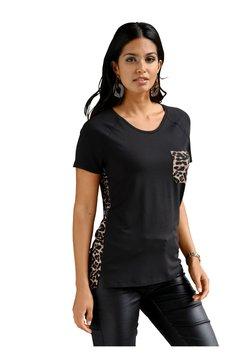 Amy Vermont - T-Shirt print - schwarz,braun