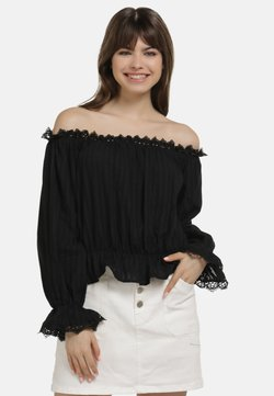 myMo - BLUSE - Bluse - black