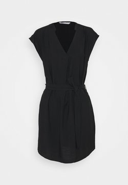 ONLY - ONLJOSEY V NECK DRESS - Korte jurk - black