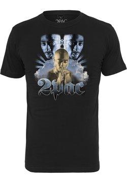Mister Tee - TUPAC HEAVEN TEE - T-Shirt print - black