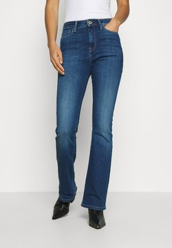 Pepe Jeans - DION  - Flared Jeans - dark-blue denim