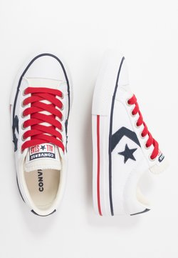 Converse - STAR PLAYER - Baskets basses - white/obsidian/gym red