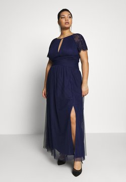 Little Mistress Curvy - MAXI TRIMS - Occasion wear - navy