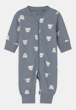Lindex - CAT FACES UNISEX - Pijama - blue