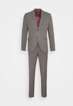 Isaac Dewhirst - BOLD VINTAGE CHECK SUIT - Costume - red check