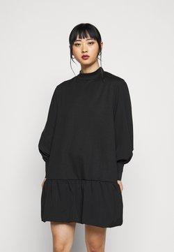 Vero Moda Petite - VMBELLE SHORT DRESS - Korte jurk - black