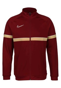 Nike Performance - ACADEMY - Trainingsjacke - team red / white / jersey gold