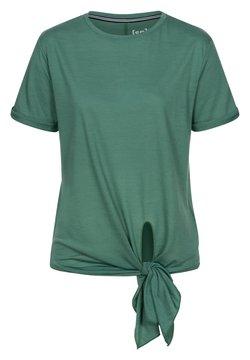 super.natural - W KNOT  - T-Shirt print - blau - grün