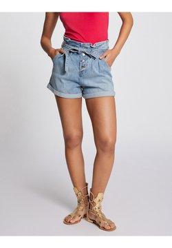 Morgan - Jeans Shorts - bleached denim