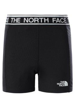 The North Face - G BIKE SHORT - Tights - tnf black