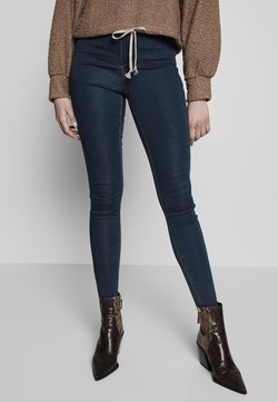 Missguided Tall - VICE HIGHWAISTED - Jeans Skinny - vintage blue