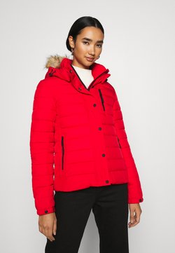 Superdry - CLASSIC FUJI JACKET - Winterjacke - high risk red