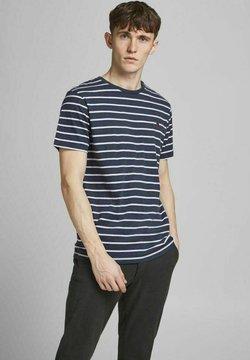 Jack & Jones PREMIUM - T-Shirt print - blue denim