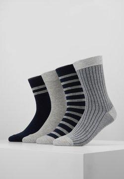 DIM - CREW SOCKS ECO DIM STYLE 4 PACK - Socken - grey/blue