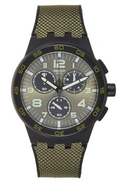 Swatch - DARK FOREST - Montre à aiguilles - dark green