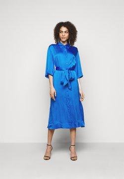 Diane von Furstenberg - BELTED SHIRT DRESS - Cocktailkleid/festliches Kleid - tanzanite