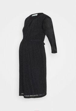 JoJo Maman Bébé - SPARKLE KEYHOLE PLEAT DRESS - Vestito elegante - black