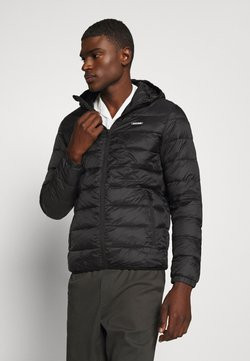 Jack & Jones - JJVINCENT PUFFER HOOD - Winterjas - black