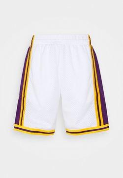 Mitchell & Ness - NBA LOS ANGELES LAKERS RELOAD SWINGMAN SHORT - Squadra - white