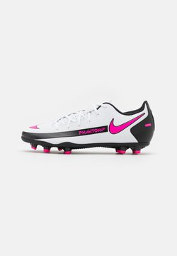 Nike Performance - PHANTOM GT CLUB FG/MG UNISEX - Fußballschuh Nocken - white/pink blast/black