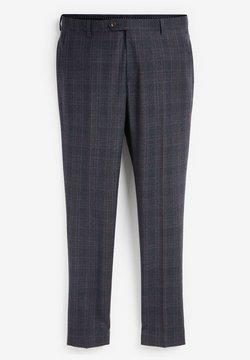 Next - Spodnie garniturowe - dark blue