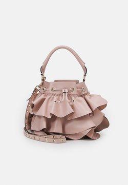 Red V - BUCKET BAG - Handtasche - nude