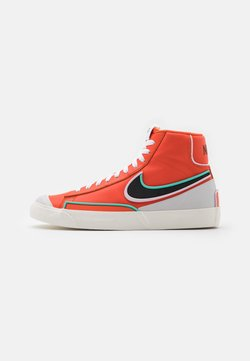 Nike Sportswear - BLAZER MID '77 INFINITE - Sneaker high - team orange/baroque brown/arctic pink