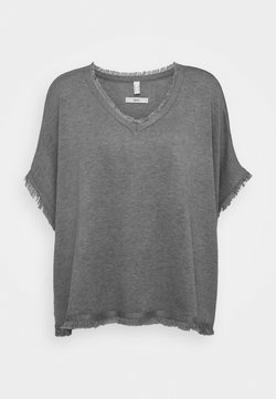 Esprit - PONCHO CROP - Cape - grey