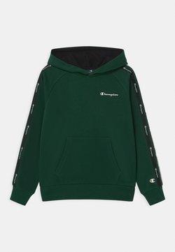 Champion - LEGACY AMERICAN TAPE HOODED UNISEX - Bluza z kapturem - dark green