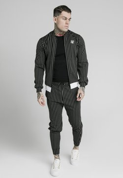 SIKSILK - PINSTRIPEJACKET - Bombertakki - black/white