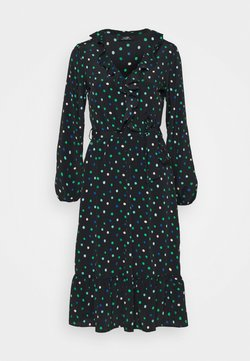 Wallis - DOT DRESS - Sukienka letnia - green
