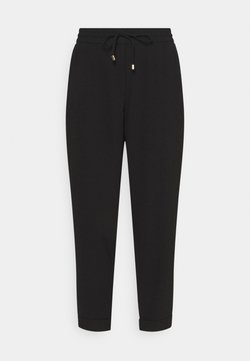 Forever New - TAPERED LEG PANTS - Broek - black
