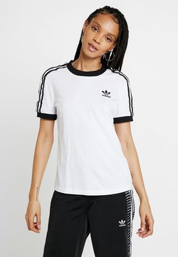 adidas Originals - T-shirt imprimé - white