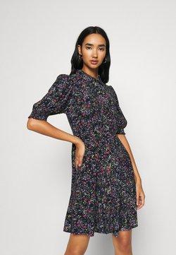 Vero Moda - VMLISSY SHORT DRESS - Shirt dress - navy blazer