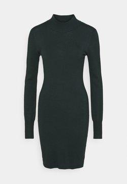 Kaffe - EVA ASTRID DRESS - Vestido de punto - darkest spruce