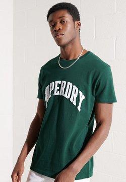 Superdry - ARCH - Print T-shirt - enamel green
