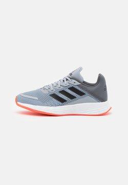 adidas Performance - DURAMO  - Obuwie treningowe - halo silver/solar red
