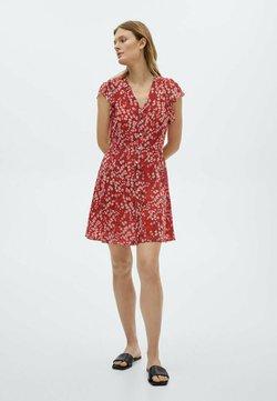 Massimo Dutti - Sukienka letnia - red