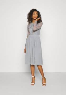 Nly by Nelly - SOMETHING ABOUT HER - Vestito elegante - grey