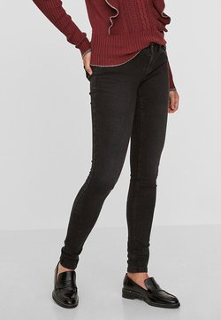 Noisy May - NMEVE POCKET PIPING - Jeans Skinny Fit - black