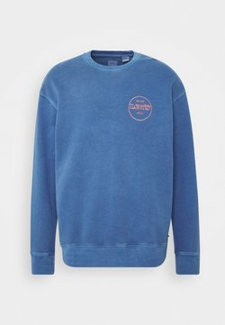 Levi's® - RELAXED GRAPHIC CREW - Sweatshirt - blues