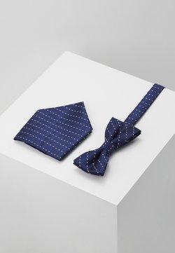 Only & Sons - ONSTOBIAS BOW TIE BOX HANKERCHIE SET - Einstecktuch - dress blues