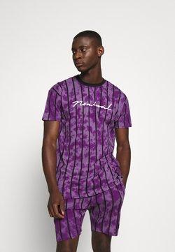 Nominal - ALBA TEE - T-shirt con stampa - purple
