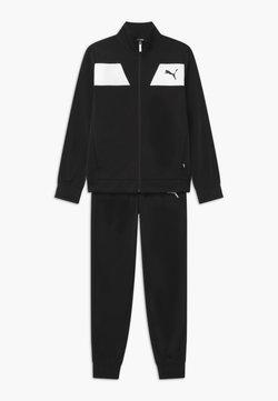 Puma - POLY SET UNISEX - Trainingsanzug - puma black
