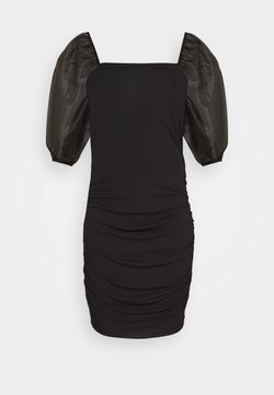 Vero Moda Curve - VMCELLY DRESS - Juhlamekko - black