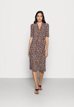 InWear - BEN WRAP DRESS - Jerseykleid - coffee brown