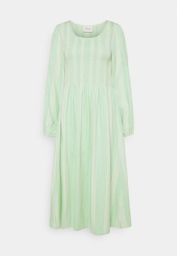 CECILIE copenhagen - ALISHA LONG DRESS - Freizeitkleid - quiet green
