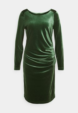 Kaffe - KELLY DRESS - Cocktailkleid/festliches Kleid - dark green